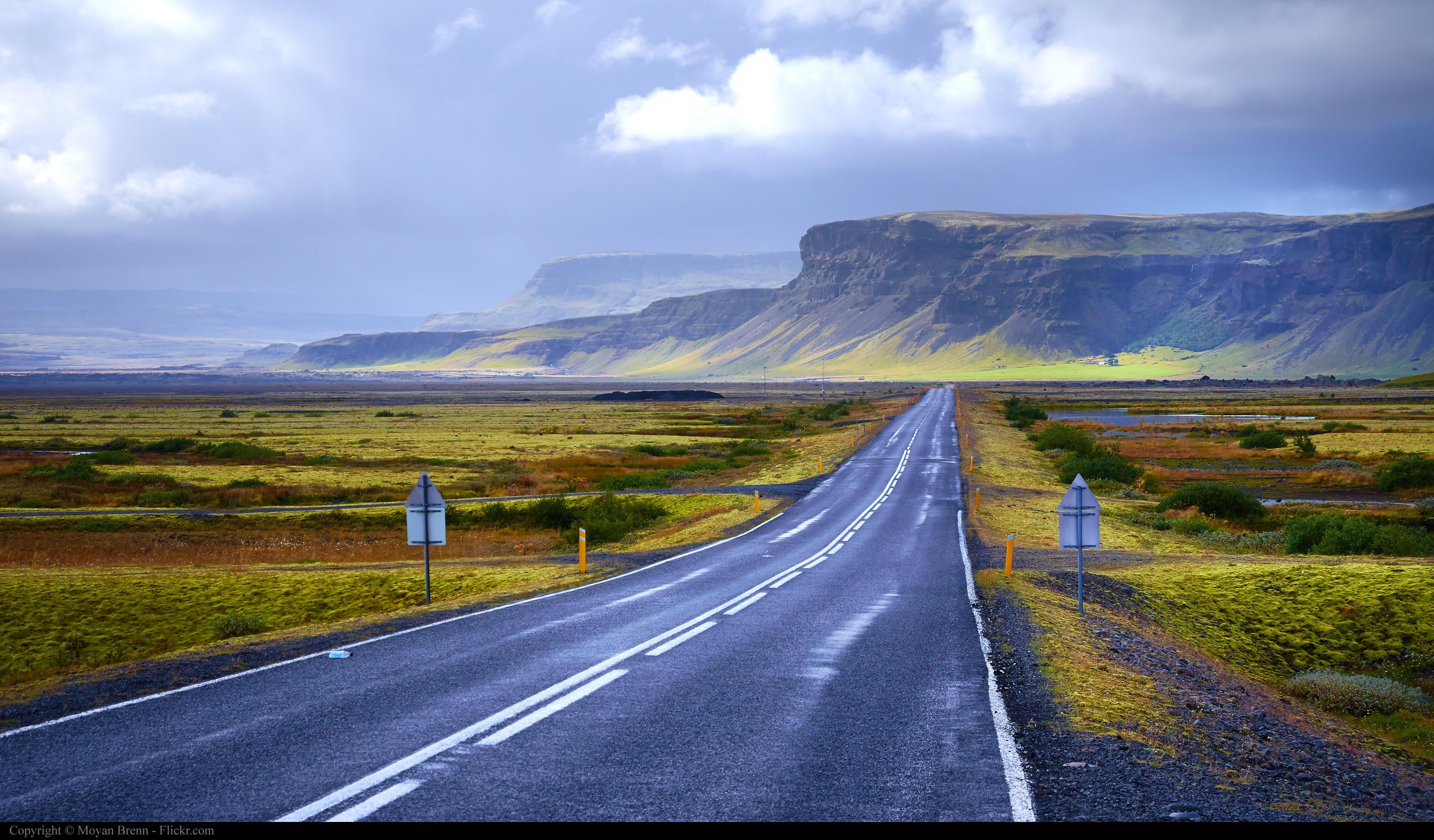 carretera en Finlandia