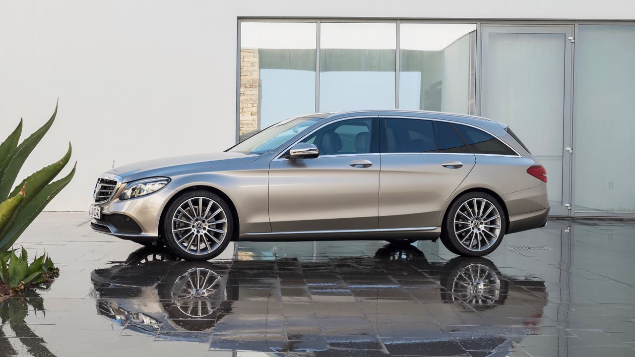 Mercedes Clase C Estate 2018 lateral