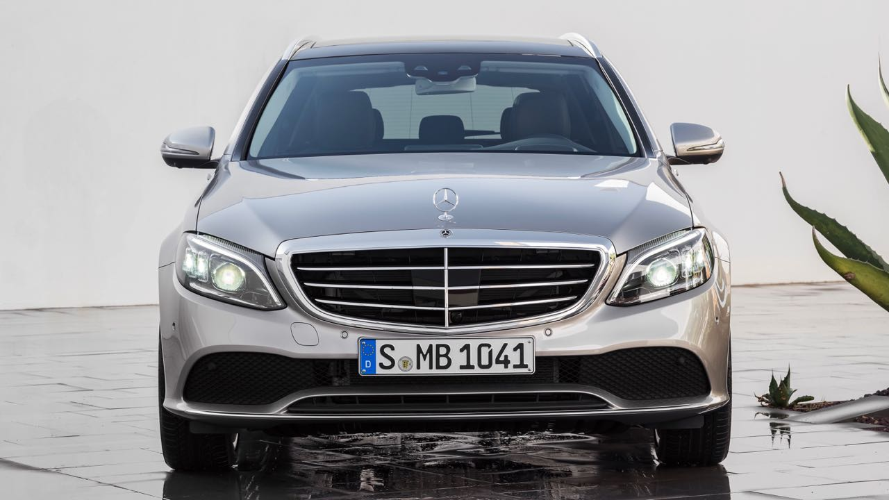 Mercedes Clase C Estate 2018 frontal