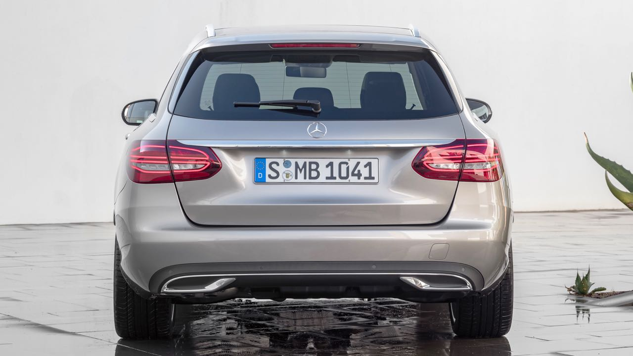 Mercedes Clase C Estate 2018 trasera