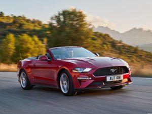 Fotos de Ford Mustang Ecoboost Convertible 2017