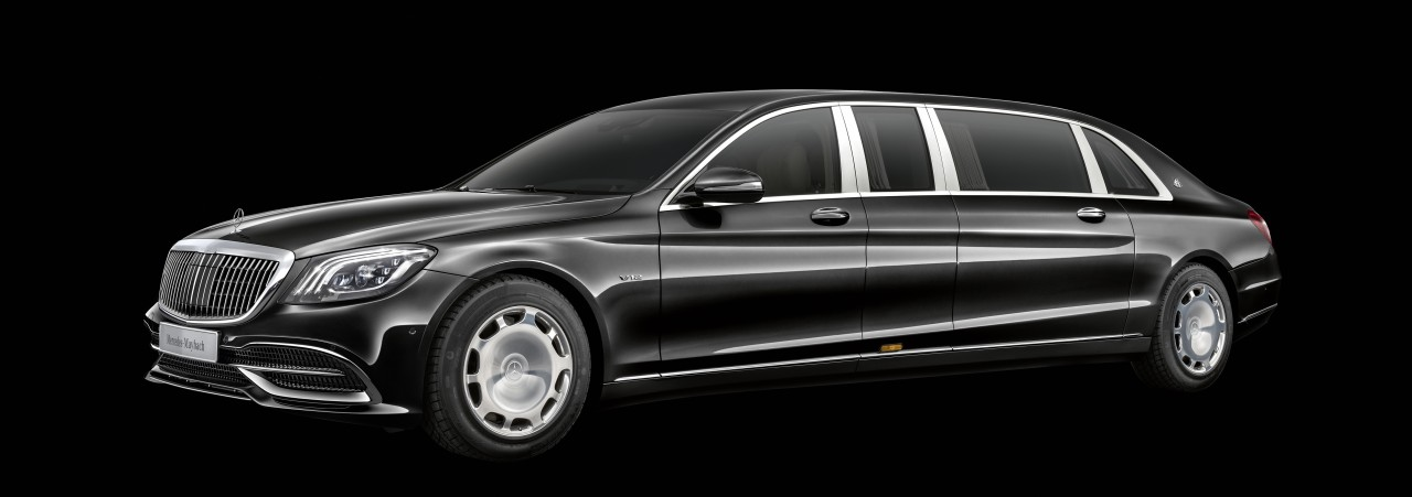 Neues beim Mercedes-Maybach Pullman: Neues Gesicht, neue Interieurfarben und Zierelemente