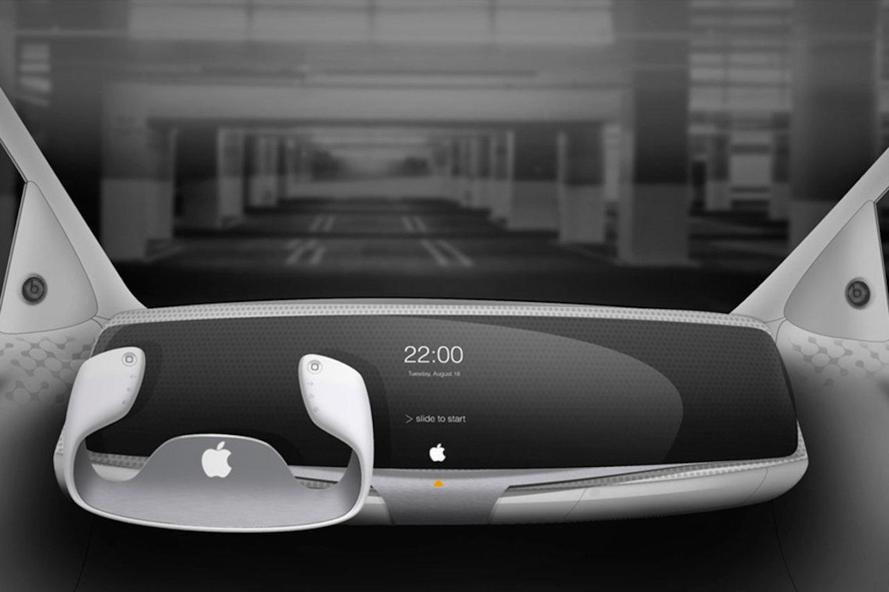 Apple Car diseno interior