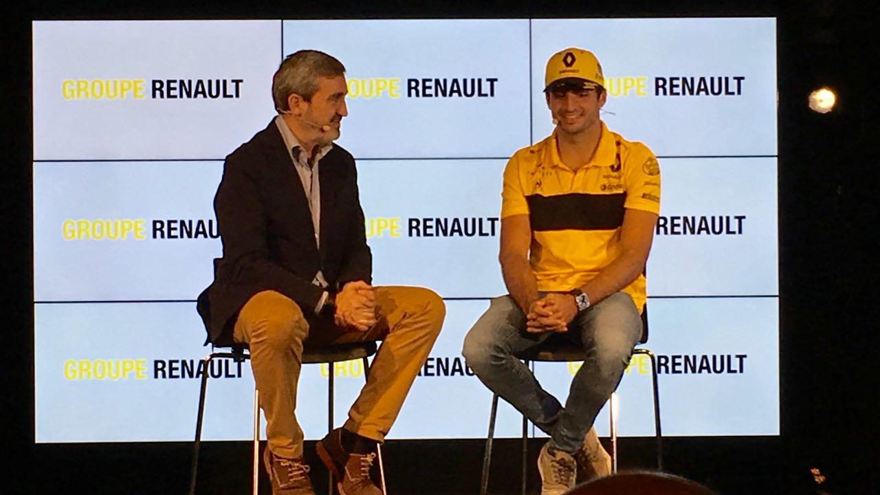 Carlos Sainz presentacion GP – 1