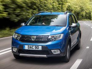 Dacia Logan MCV Stepway UK 2017