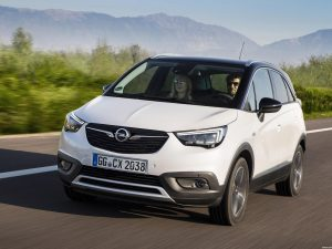 Opel Crossland X Turbo D 2017