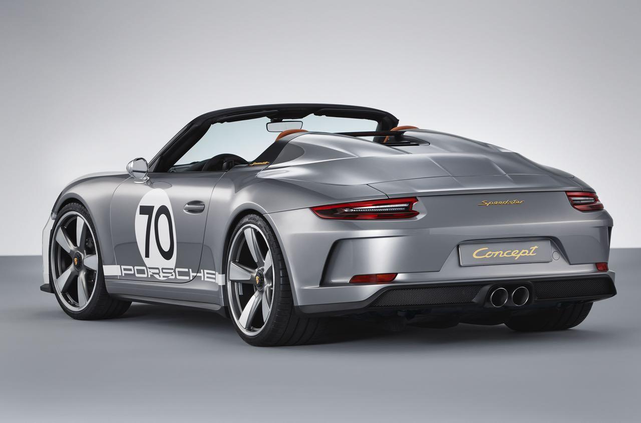Porsche 911 Speedster Concept 2018 – 3