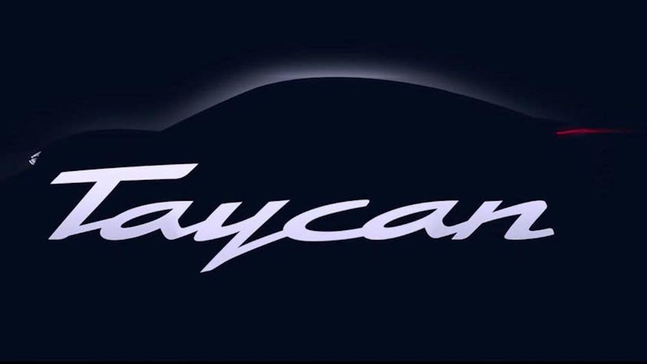 Porsche Taycan teaser – 1