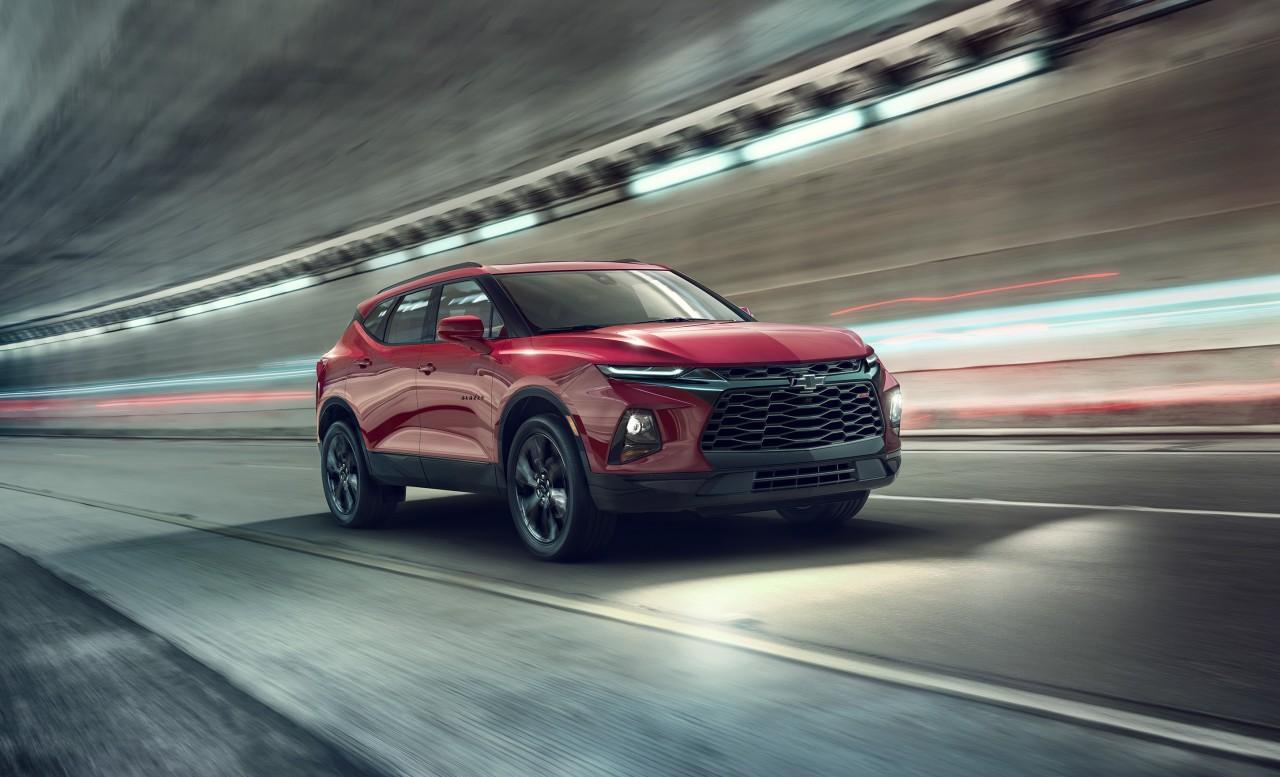 2019 Chevrolet Blazer RS: An attention-grabbing midsize SUV offe