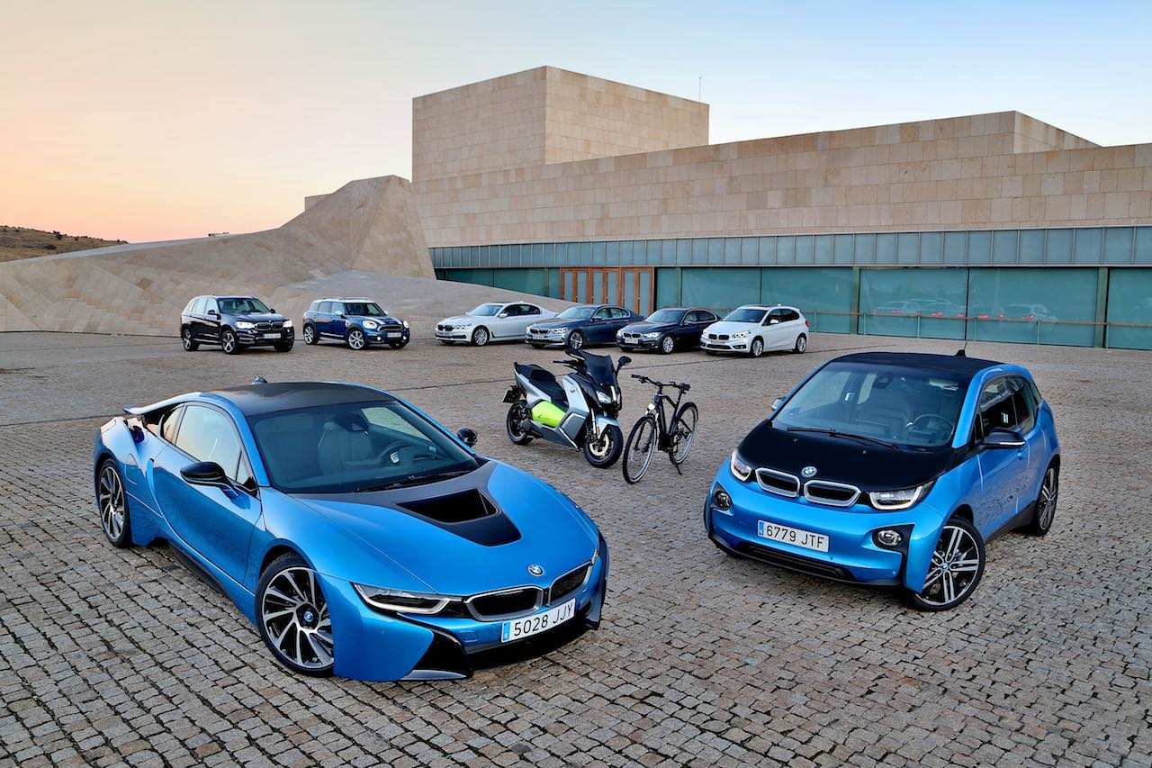 BMW gama electrica