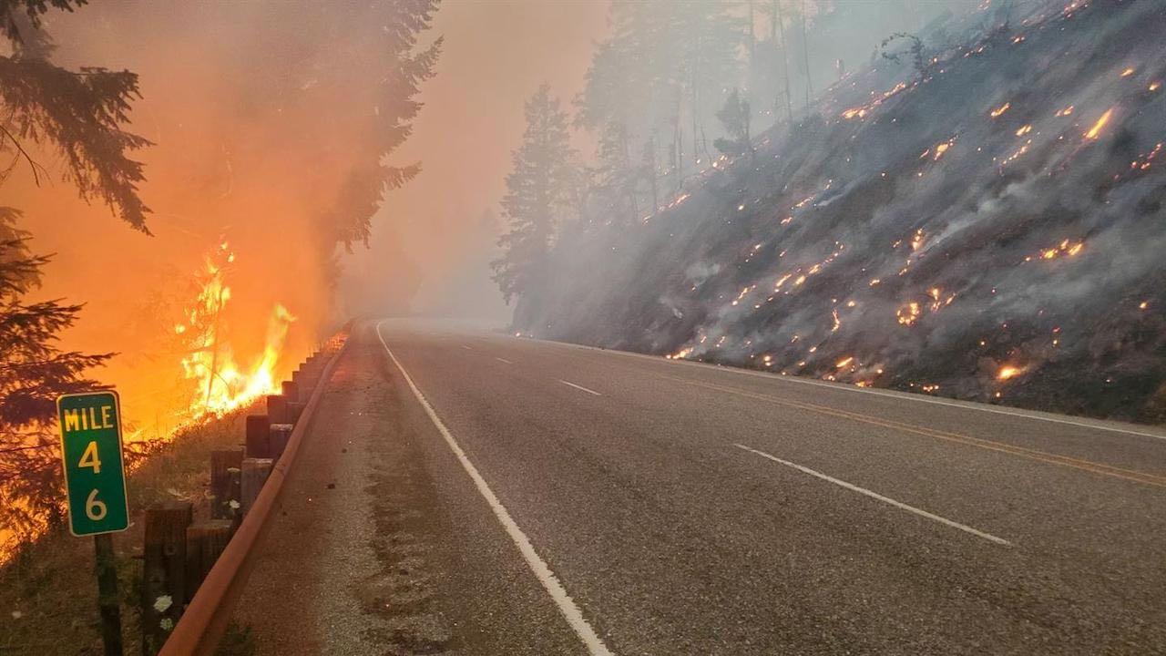 incendio carretera