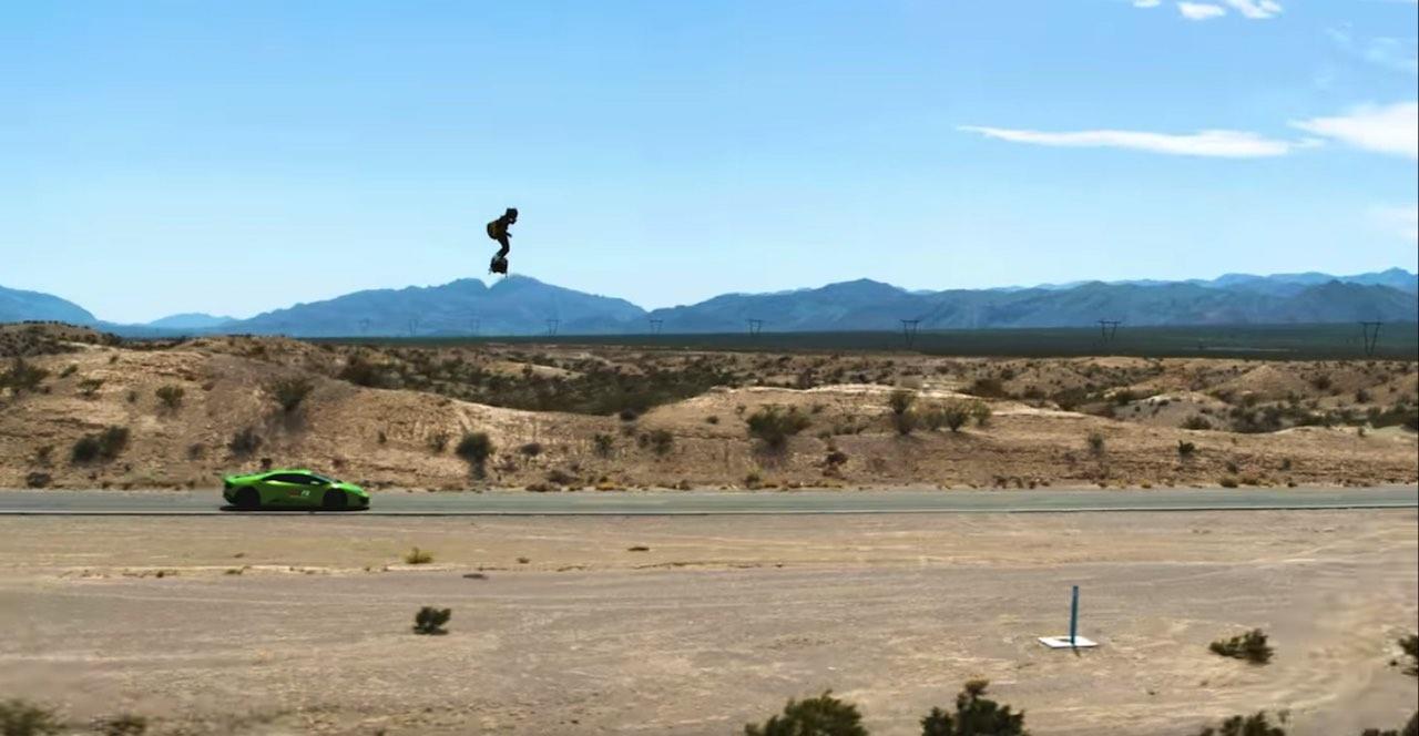 Flyboard Lamborghini 02