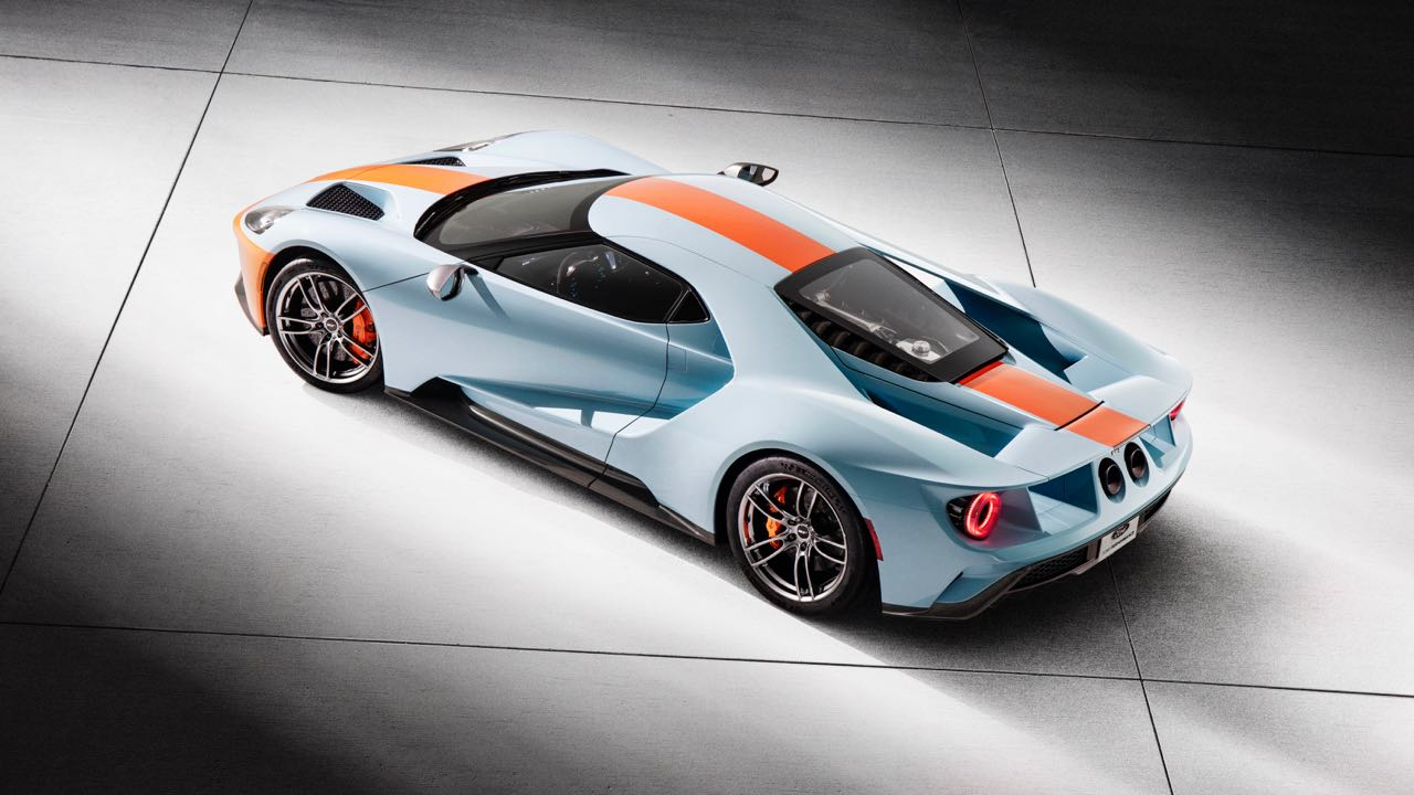 Ford GT Heritage Edition 2019 – 2