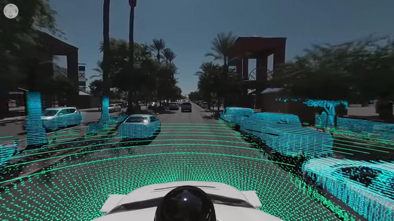 Waymo 360 video 02
