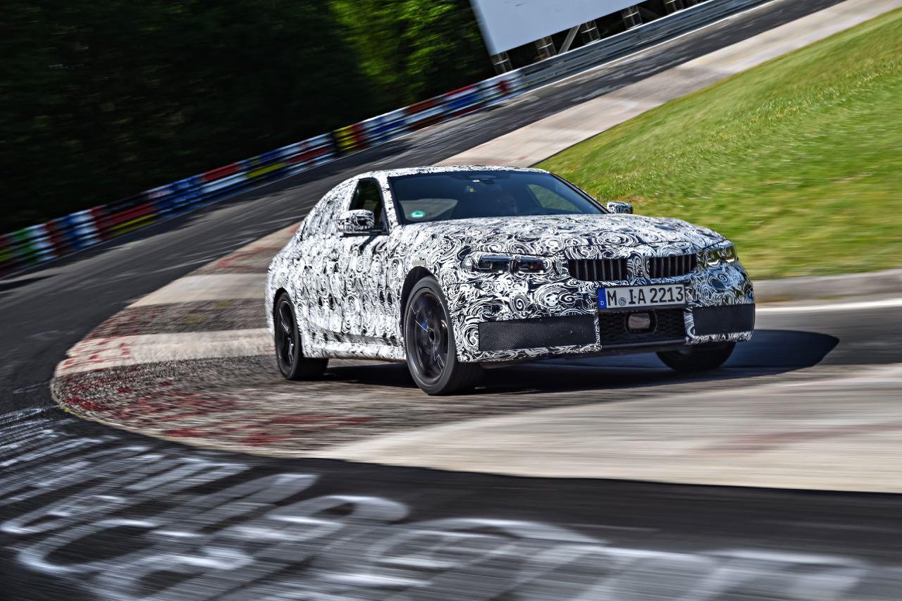 BMW Serie 3 2019 camuflado – 12