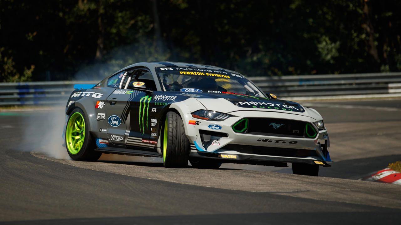 drift Ford Mustang Nürburgring