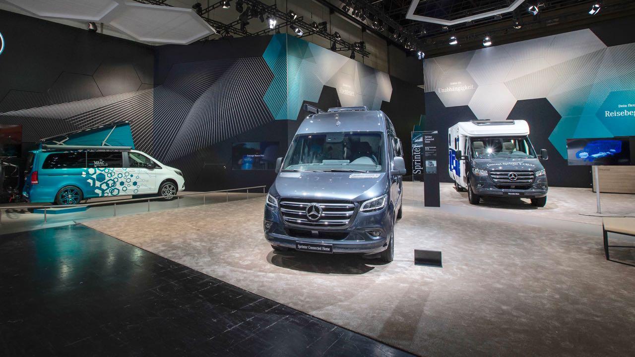 Mercedes-Benz Vans auf dem Caravan Salon Düsseldorf 2018Mercedes-Benz Vans auf dem Caravan Salon Düsseldorf 2018