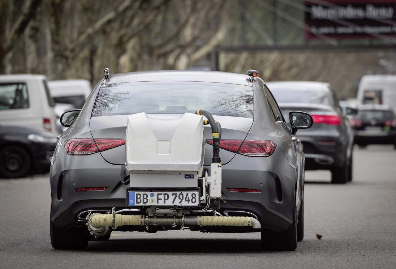 Mercedes CLS emisiones RDE