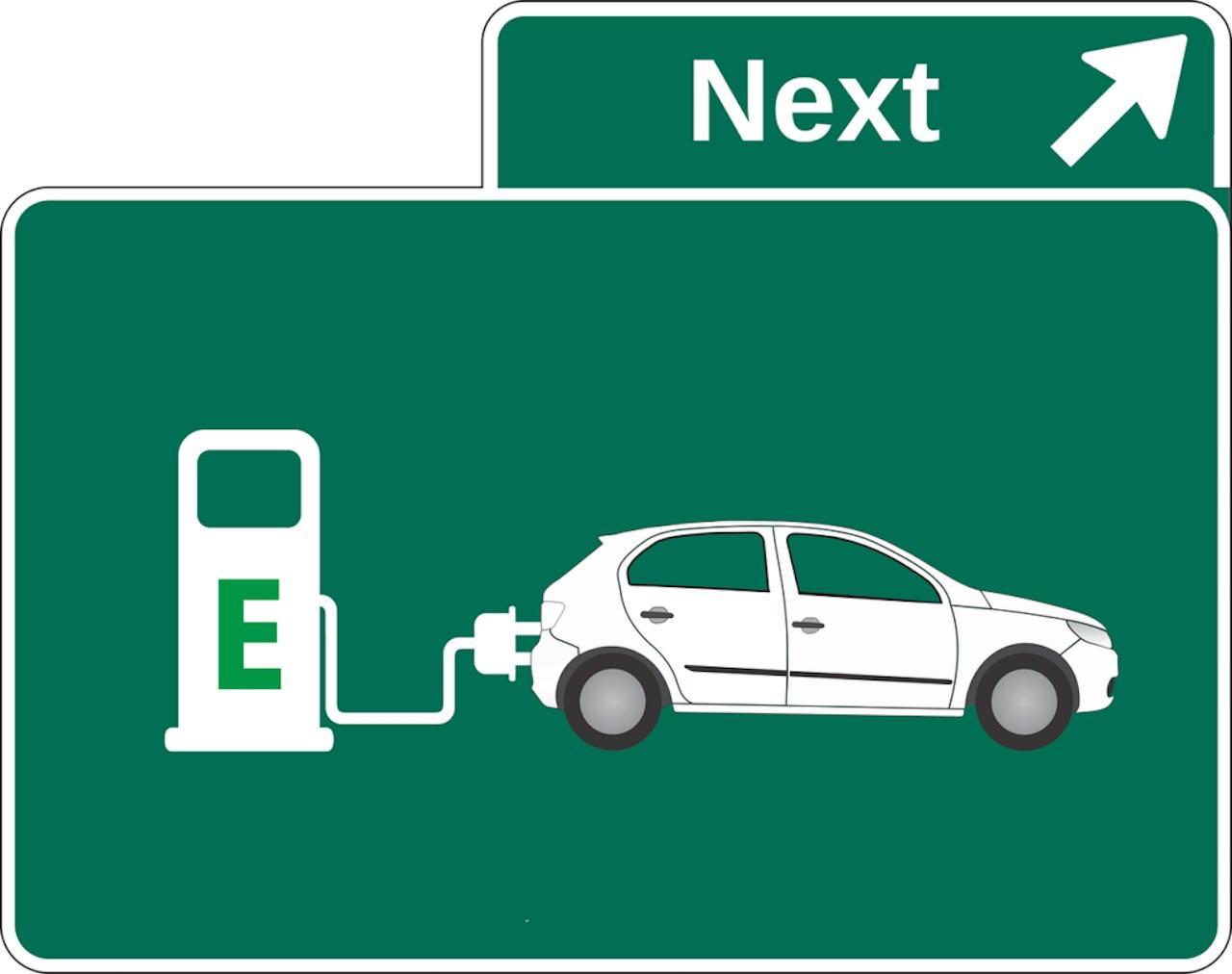coche electrico electrolinera aviso – 1
