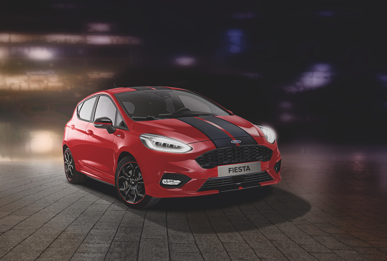 New Ford Fiesta ST-Line Red Edition and Black Edition Introduce Head-Turning Contrast Colour Schemes