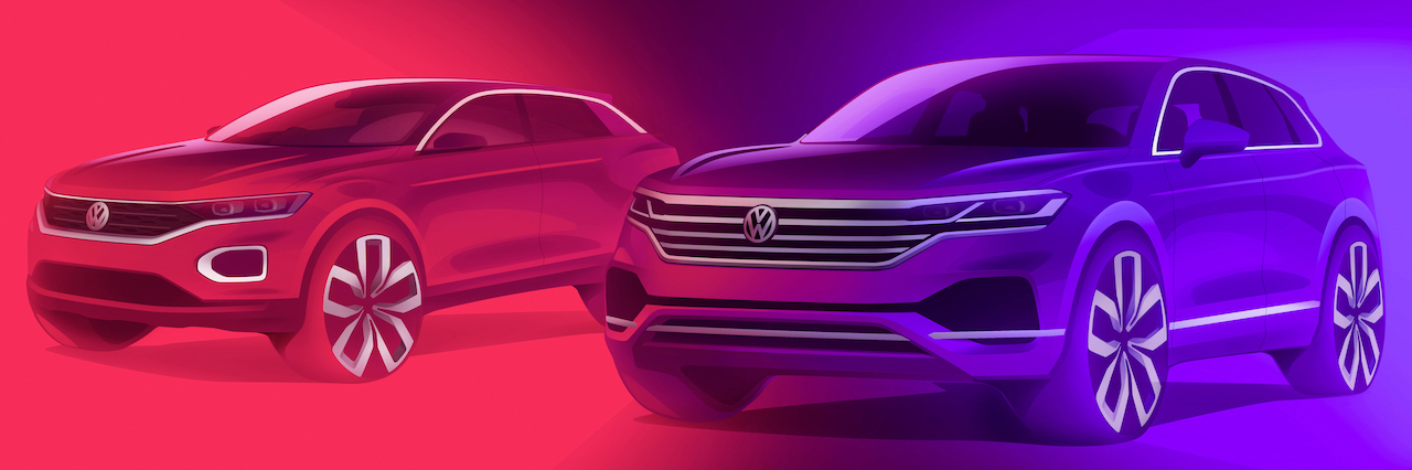Volkswagen expects an SUV share of 50% by 2025