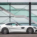 Mercedes-AMG GT 2019. Vista lateral