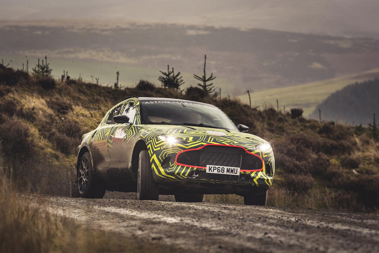 Aston Martin5th / 6th November 2018Photo: Drew Gibson