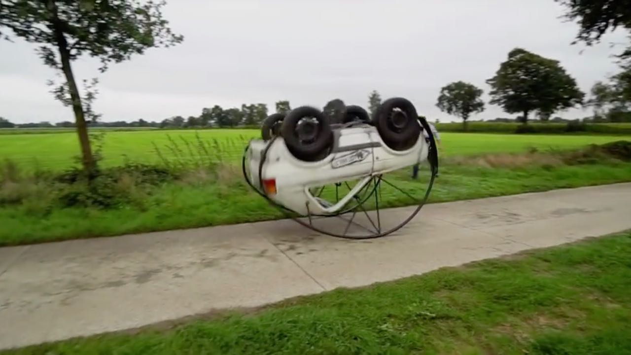 vuelta de campana VW golf corto – 2