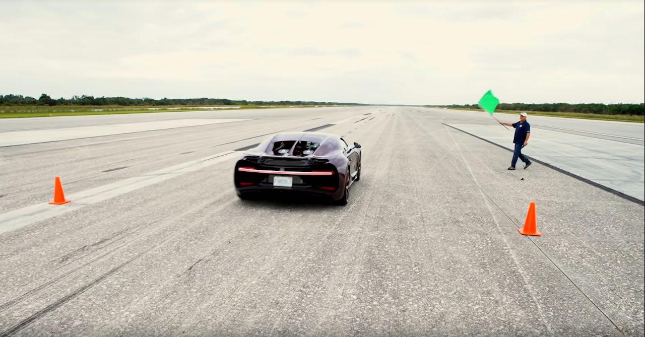 Bugatti Chiron maxima velocidad