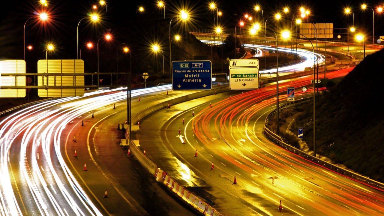 autovia noche