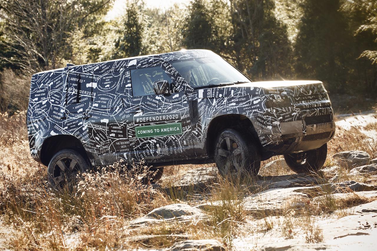 Land Rover Defender 2020, primeros detalles y fotos camuflado