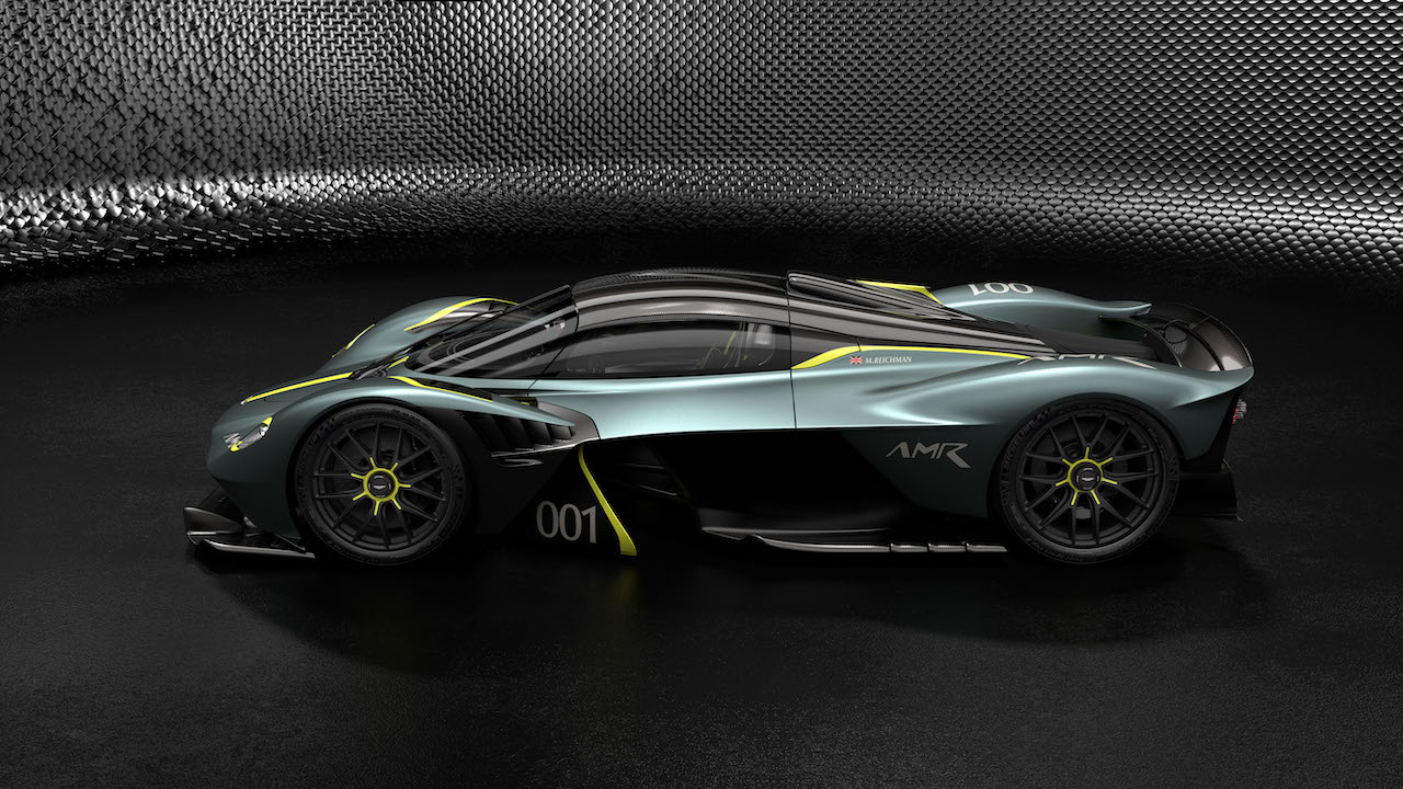 Aston Martin Valkyrie with AMR Track Performance Pack – Stirling Green and Lime livery (3)