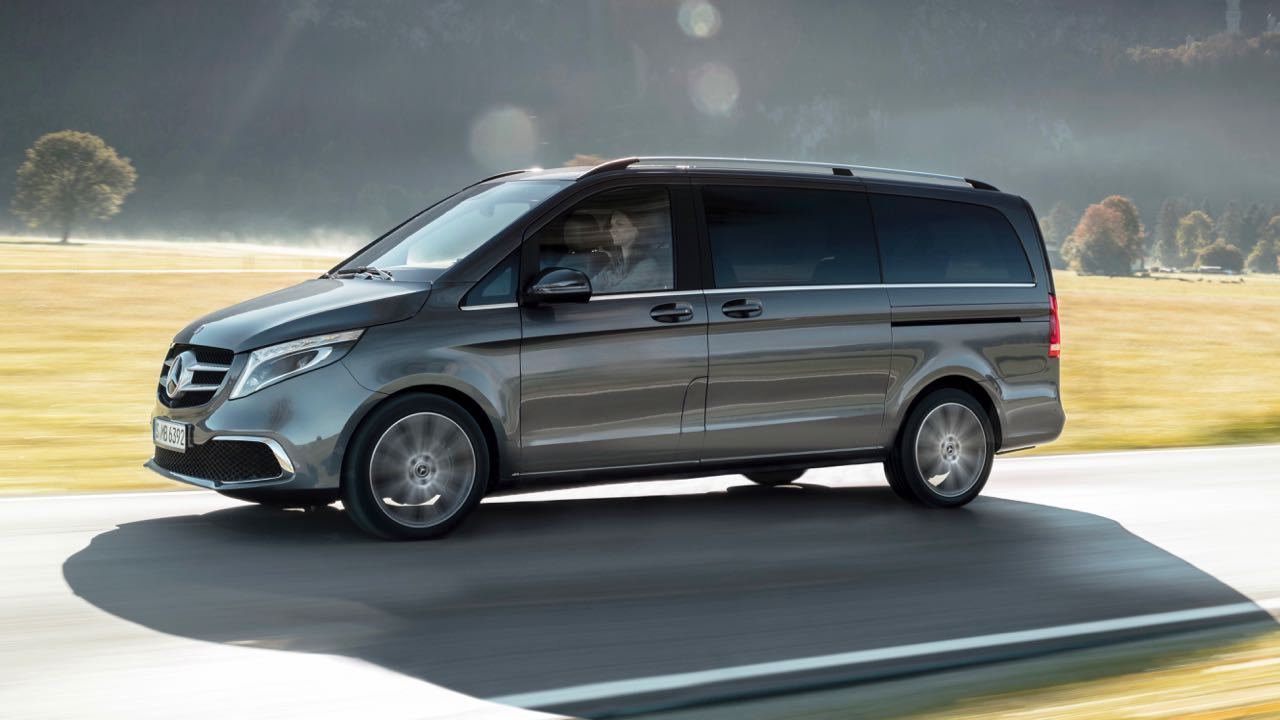 Mercedes-Benz V-KlasseThe new Mercedes-Benz V-Class