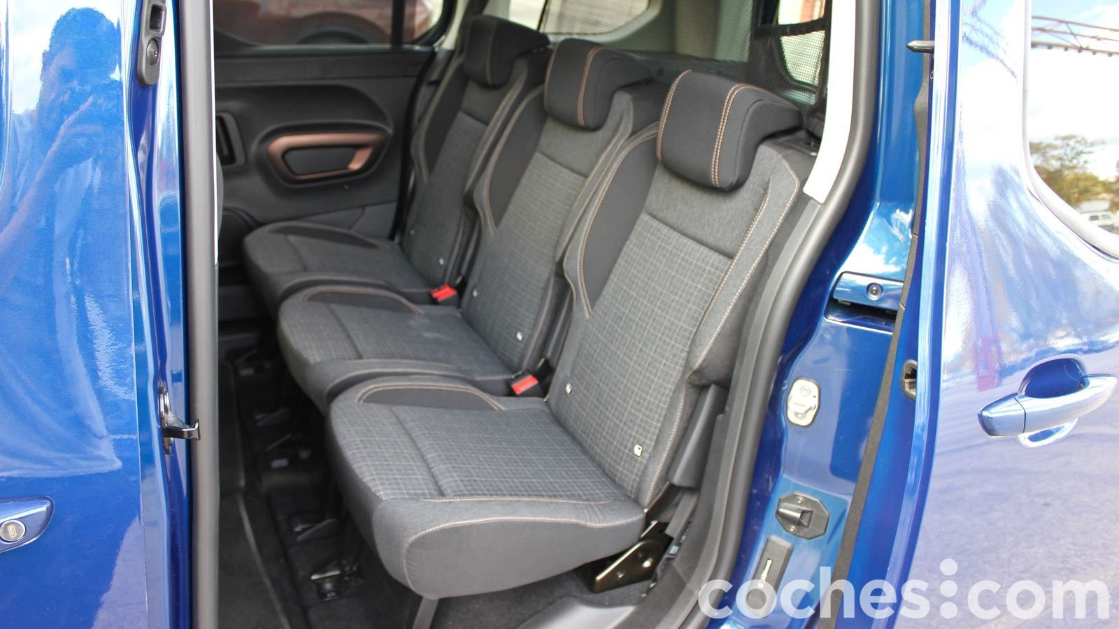 Peugeot Rifter prueba interior – 22