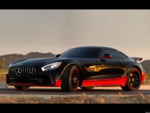 Mercedes AMG GT R Drift C190 2017