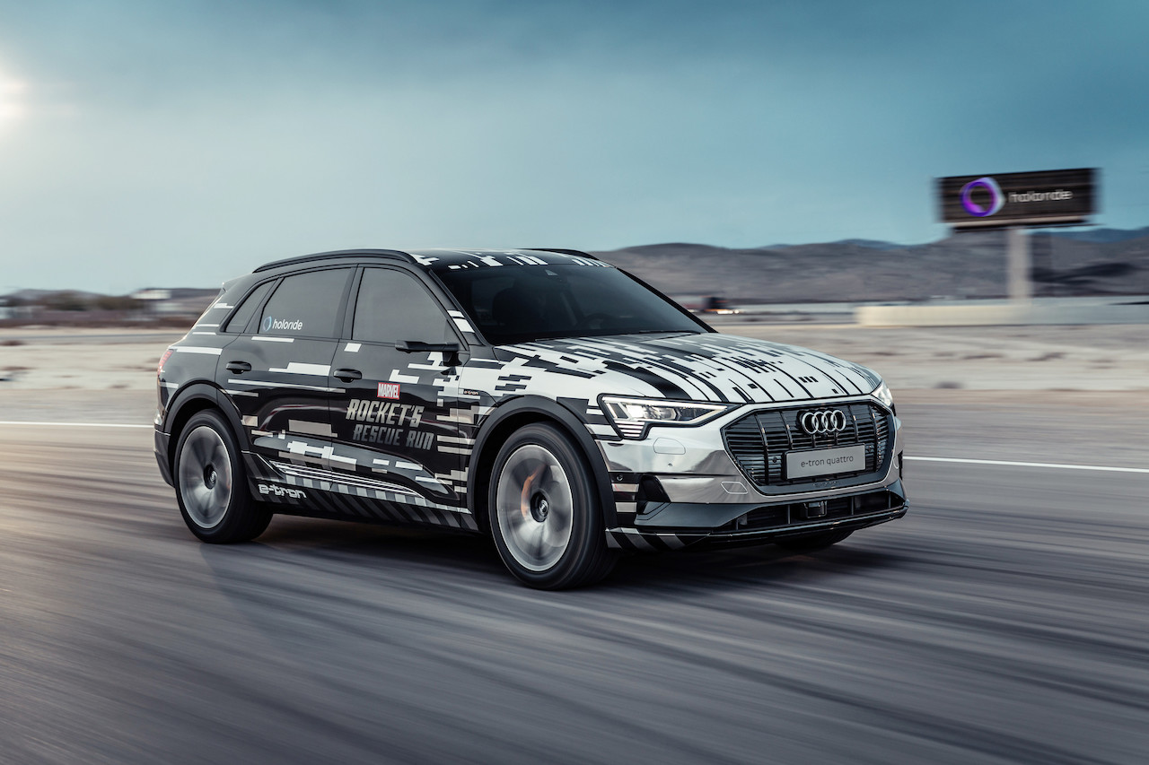 Audi turns the car into a virtual reality experience platform at