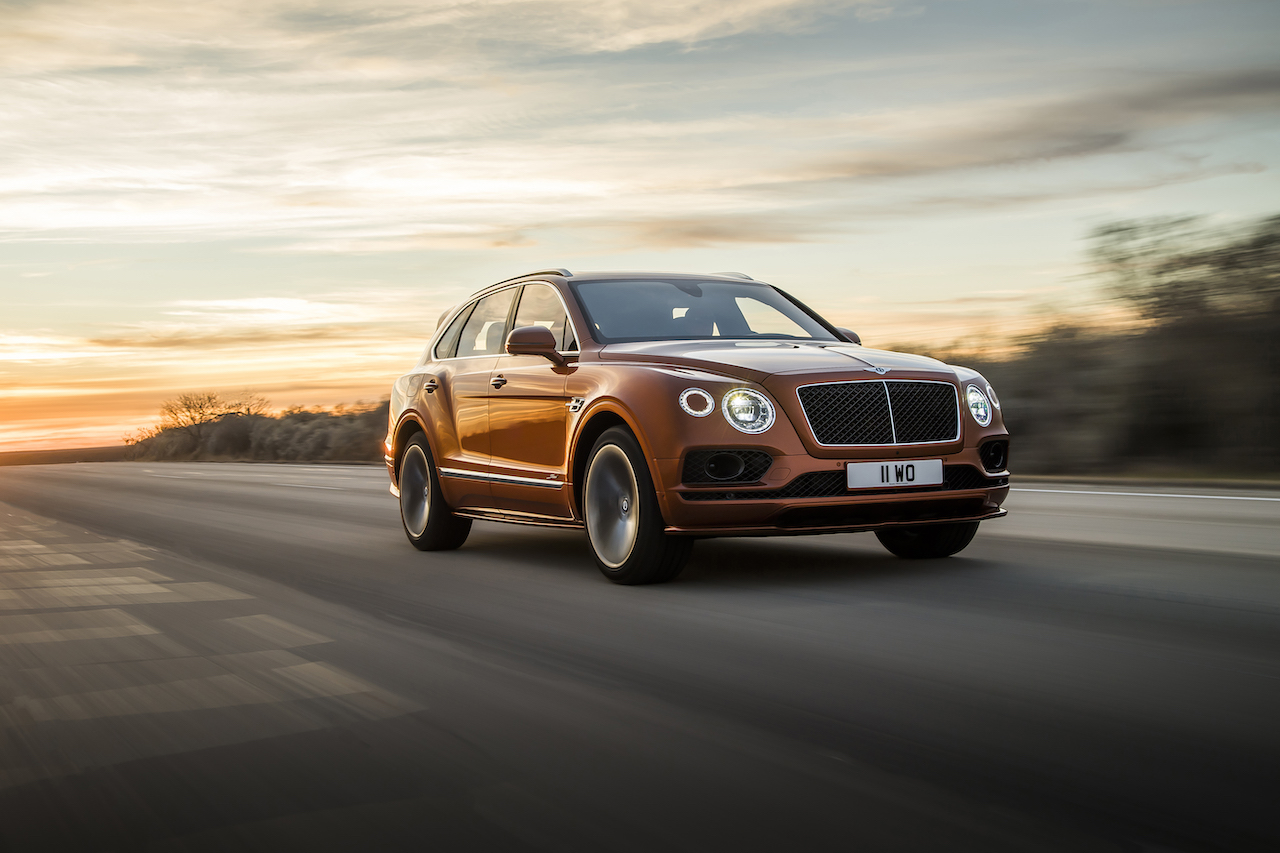 Bentley Bentayga SpeedPhoto: James Lipman / jameslipman.com