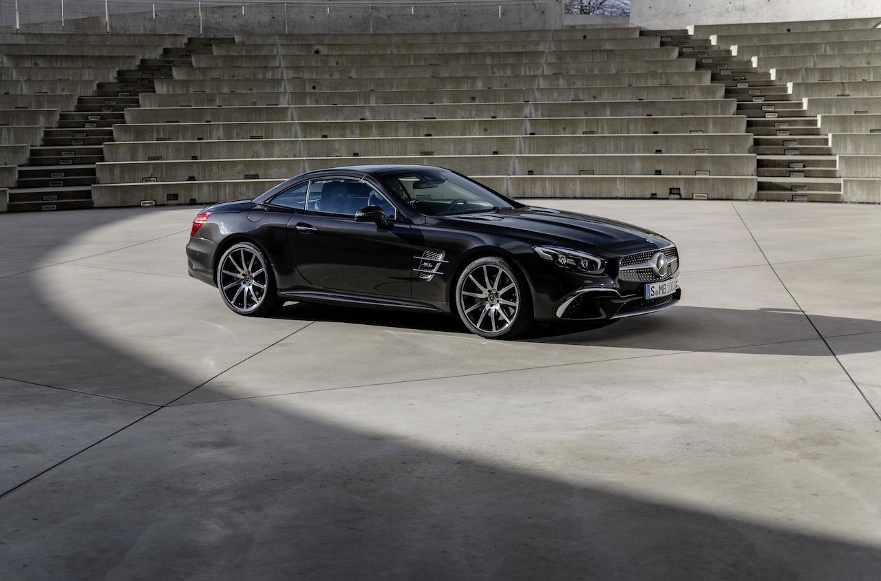 SL Grand Edition startet im März 2019: Frische Luft für den Luxus-RoadsterSL Grand Edition launches in March 2019: Fresh air for the luxury Roadster