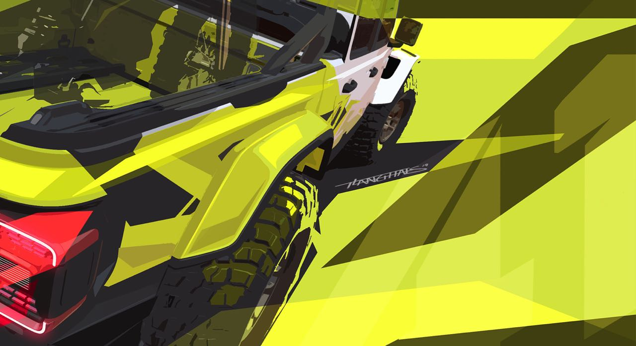 Moab EJS Vehicle Sneak Peek:  The Jeep® and Mopar brands have created several concept vehicles for the annual Easter Jeep Safari.  These images hint at two of the new concept vehicles that will head to Moab April 13-21.