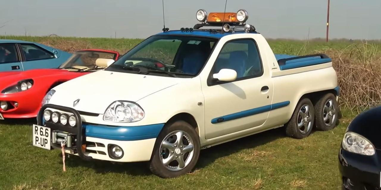 Renault Clio pick-up