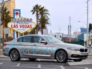 BMW Serie 5 Personal Copilot Autonomous Prototype 2017