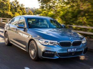BMW Serie 5 530e M Sport Australia 2017