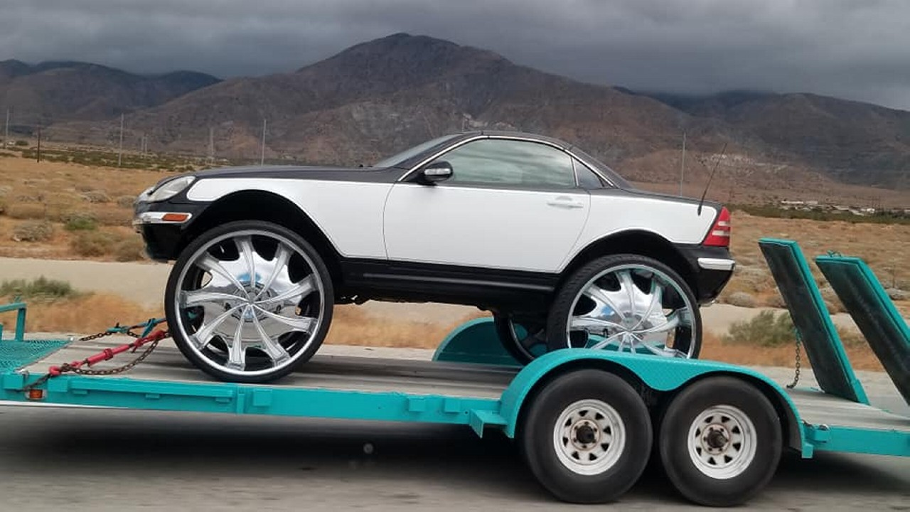 Mercedes SLK grandes ruedas