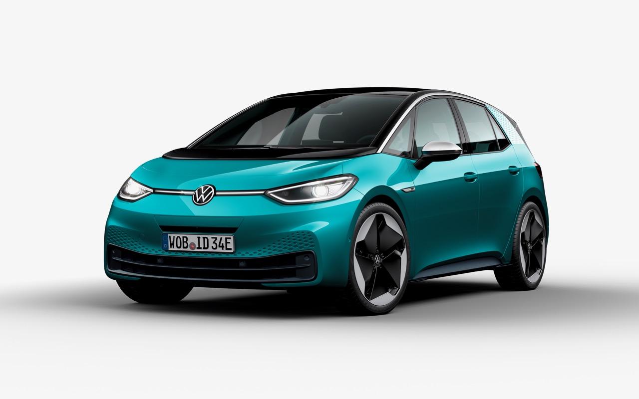 volkswagen id 3 2020  precios  motores  equipamiento