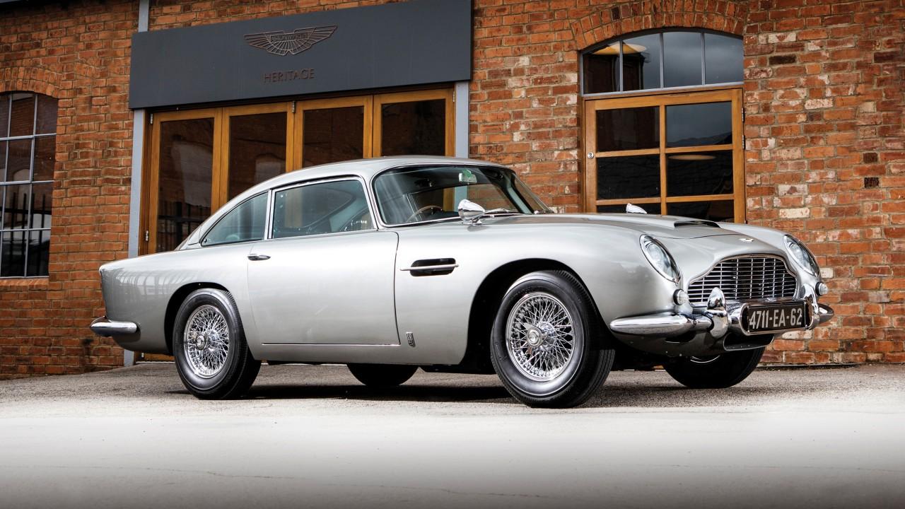 1965 Aston Martin DB5 Goldfinger Spec (27)