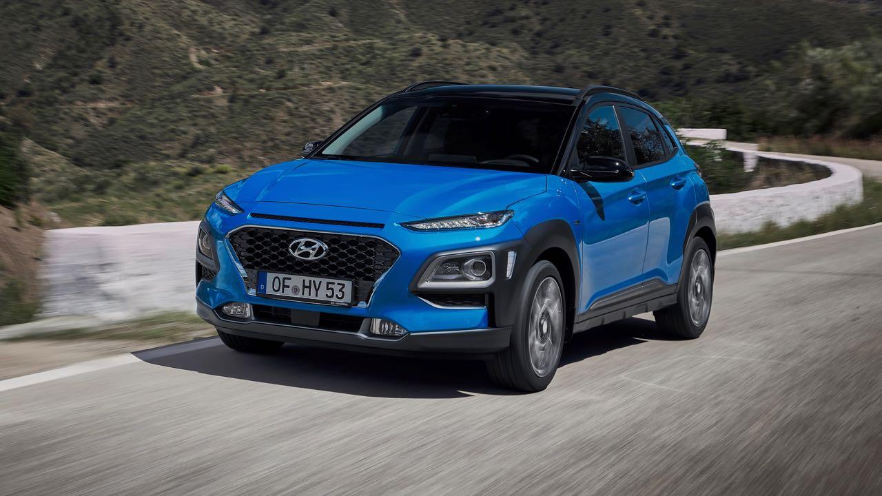 Hyundai Kona Hybrid 2019 – 5