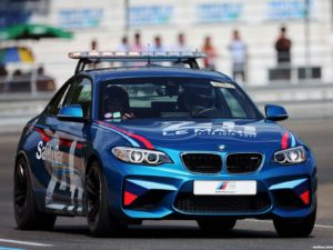 BMW M2 Coupe 24 Hours of Lemans Safety Car F87  2017
