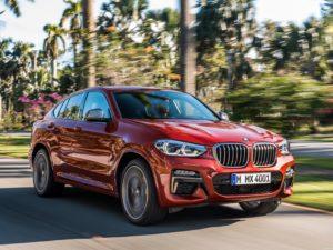 BMW X4 M40d G02 2018