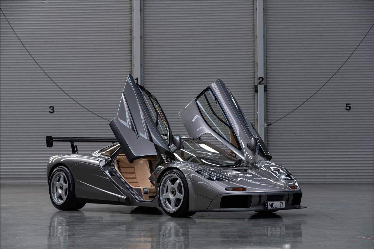 McLaren F1 LM Spec subasta – 4