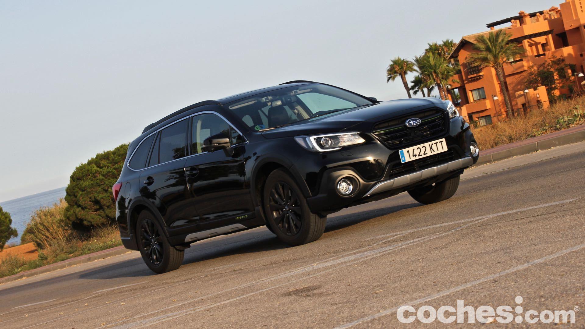 Subaru Outback ECO GLP Black Edition prueba exterior – 16